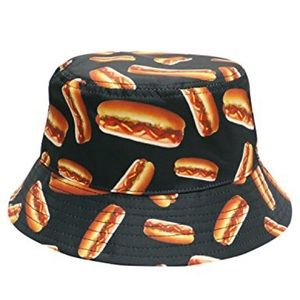 Hot Dog Bucket Hat